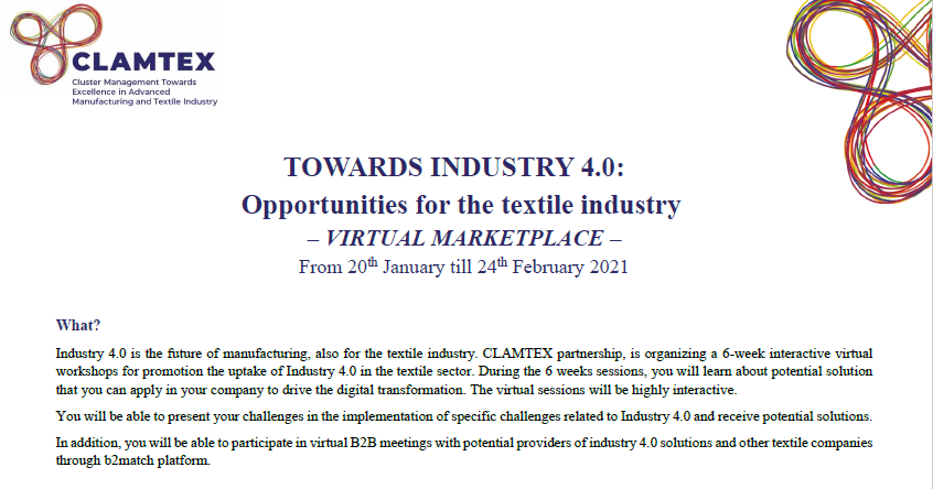 TOWARDS INDUSTRY 4.0 - VIRTUAL MARKETPLACE
